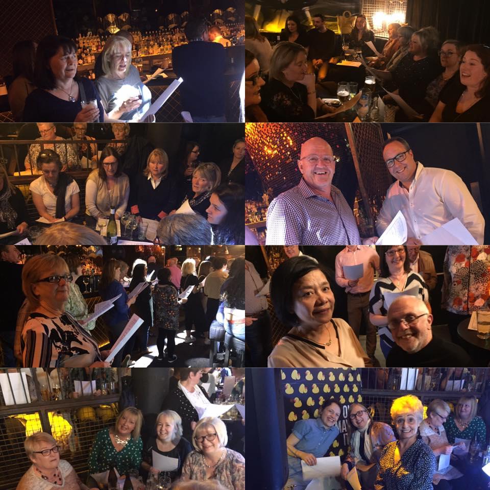 pub pop-up choir